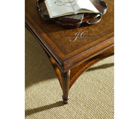 Jonathan Charles - Chinoiserie Tray in Red - 493960