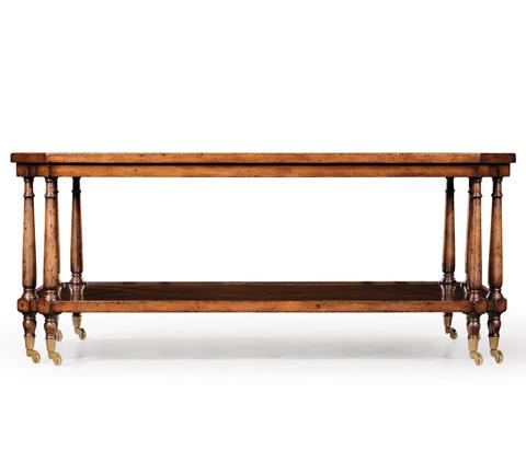 Jonathan Charles - Rectangular Coffee Table on Castors - 494027