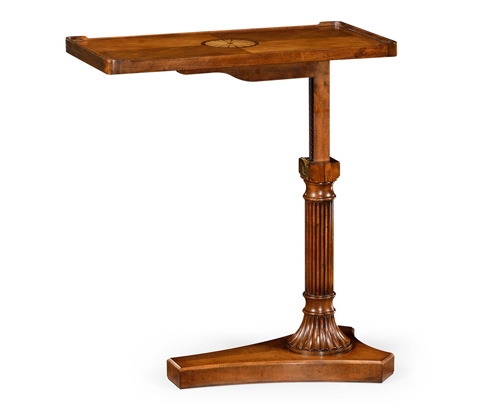 Jonathan Charles - Satinwood Adjustable Sofa Table - 494136