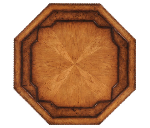Jonathan Charles - Gadrooned Octagonal Table - 494221