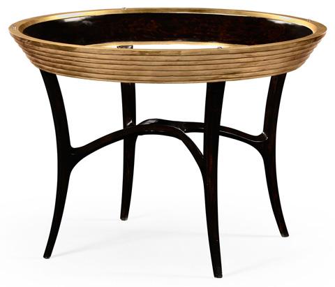 Jonathan Charles - Stepped Gilt Circular Centre Table - 494539