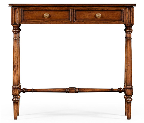 Jonathan Charles - Victorian Style Walnut Console - 494657