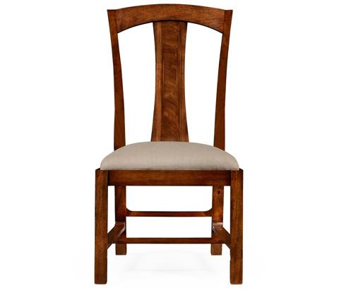 Jonathan Charles - Striped Inlay Side Chair - 494947