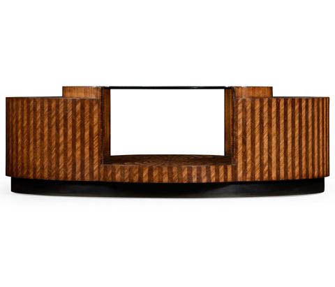 Jonathan Charles - Feather Inlay Coffee Table - 494957