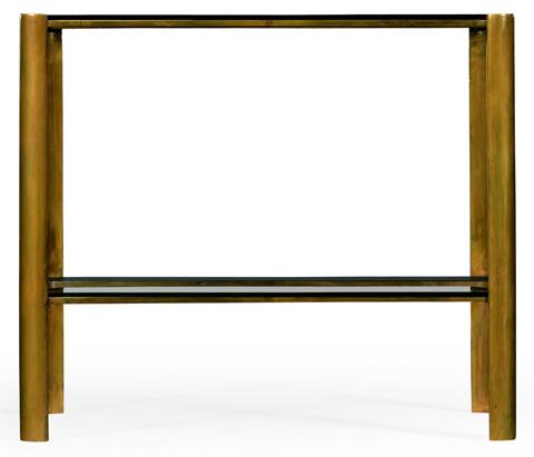 Jonathan Charles - Brass End Table - 494975