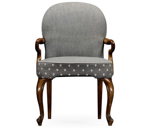 Jonathan Charles - Gunby Dining Arm Chair - 530010-GFX-AC