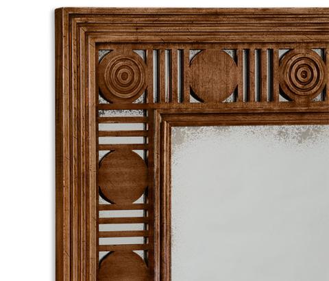 Jonathan Charles - Pen Stewart Rectangular Mirror - 530050