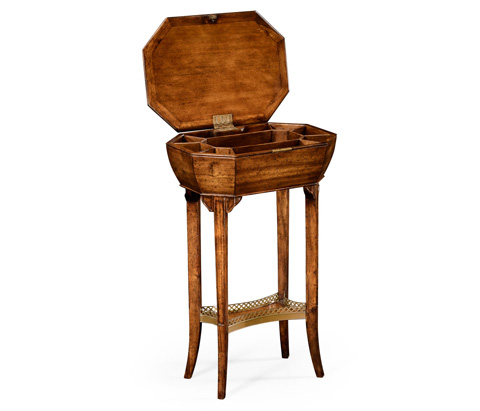 Jonathan Charles - Walnut Workbox - 492085