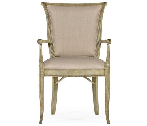 Jonathan Charles - Painted Arm Chair - 493261