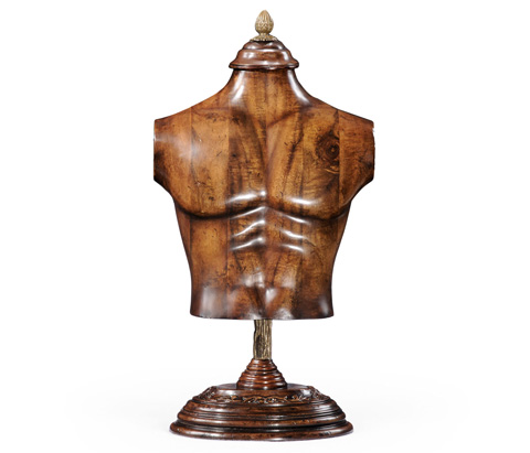 Jonathan Charles - Male Wooden Mannequin and Torso On Stand - 493857