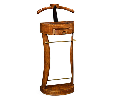 Jonathan Charles - Valet Stand With Collar and Tie - 494296