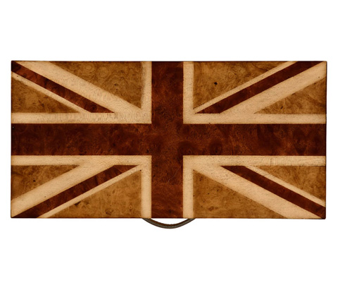 Jonathan Charles - Union Jack Rectangular Box - 494420