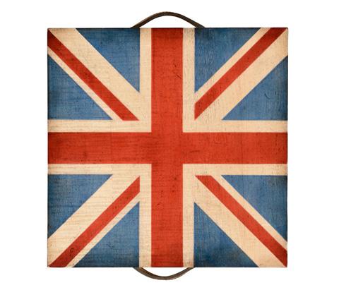 Jonathan Charles - Union Jack Square Box - 494423