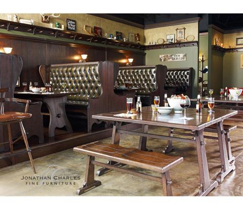 Jonathan Charles - Oak Tavern Dining Table - 494437