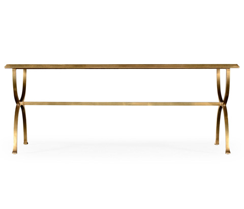 Jonathan Charles - Gilded Coffee Table - 494675-G