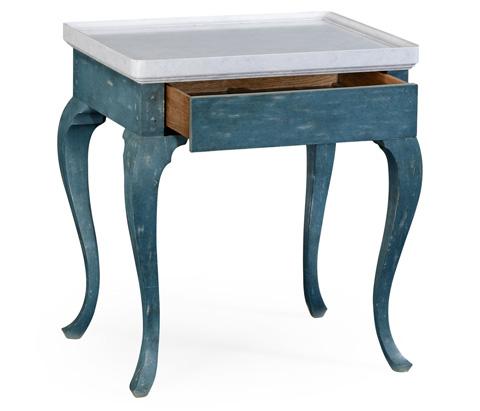 Jonathan Charles - Hemsley End Table - 530033-DB