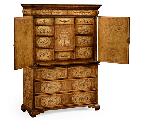 Jonathan Charles - Seaweed Accent Cabinet - 492252