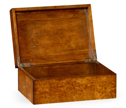 Jonathan Charles - Masur Birch Rectangular Box - 492890