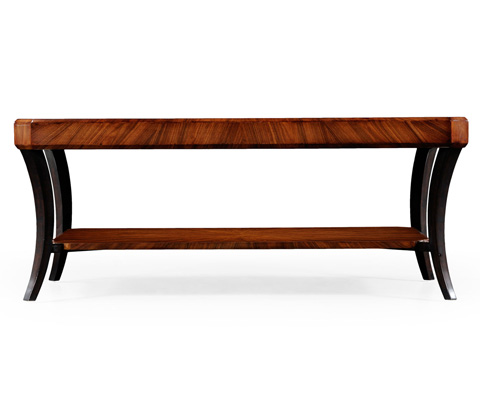 Jonathan Charles - Art Deco Rectangular Coffee Table - 494012-SAH