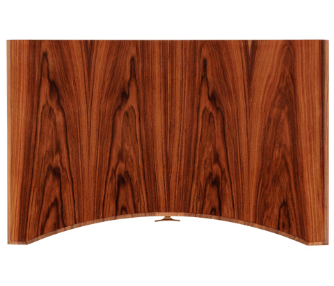 Jonathan Charles - Art Deco Curved Chest Of Drawers - 494152-SAH-BRS