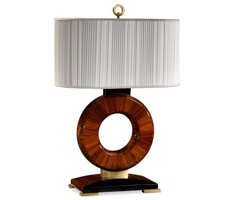 Jonathan Charles - Porthole Table Lamp - 494989-SAH-BRS