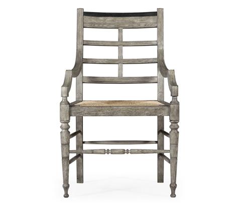 Jonathan Charles - Marshfield Arm Chair - 530102-GO