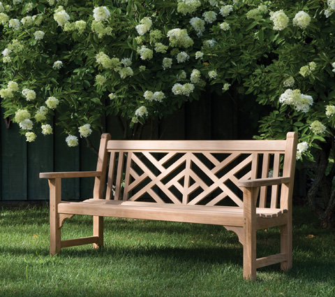 Kingsley-Bate - Chippendale 5' Bench - CH50