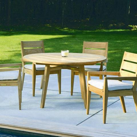 Kingsley-Bate - Algarve Round Dining Table - GV52
