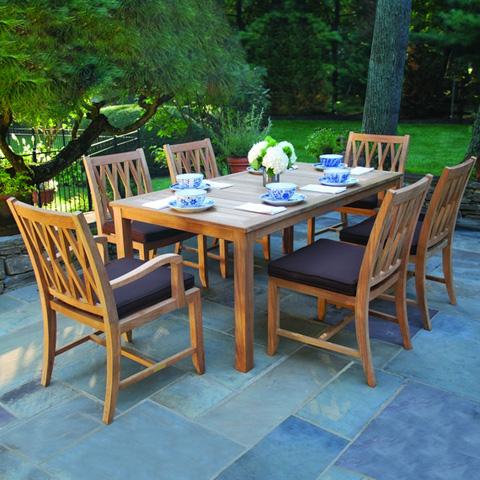 Kingsley-Bate - Somerset Dining Arm Chair - SR15