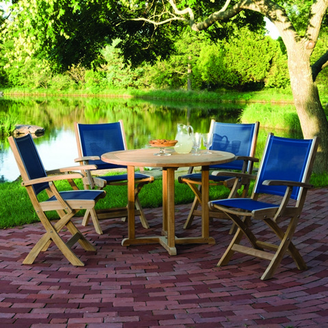 Kingsley-Bate - Essex Round Dining Table - TR36