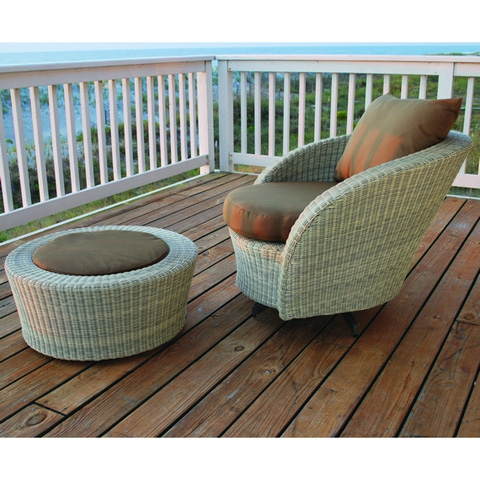 Image of Carmel Swivel Lounge Chair