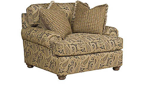 King Hickory - Henson Cuddle Suede Chair - 6001