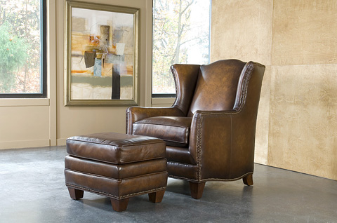King Hickory - Athens Leather Chair - 50771-L