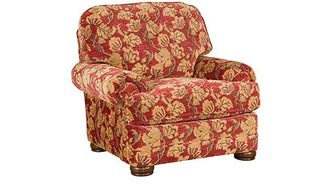 King Hickory - Edward Fabric Chair - 8501