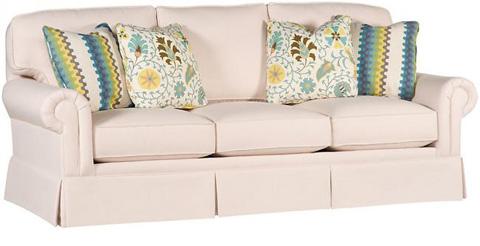 King Hickory - Winston Fabric Sofa - 7400