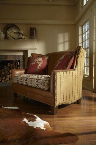 King Hickory - Athens Settee - C14-20-LF