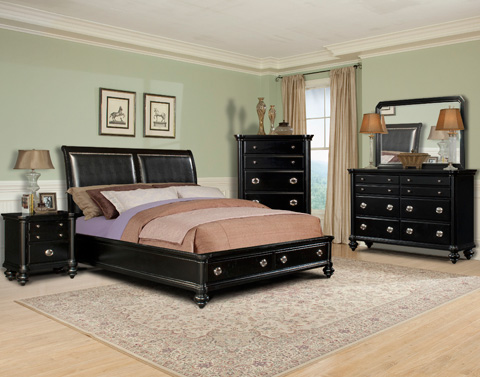 Klaussner Home Furnishings - Queen Bed - 652-050 QBED
