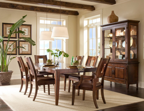 Klaussner Home Furnishings - Dining Room Table - 845-096 DRT