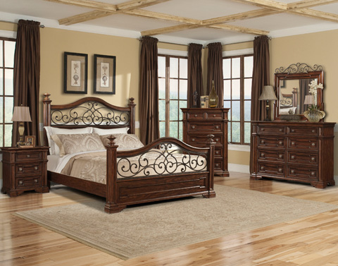 Klaussner Home Furnishings - Queen Bed - 872-050 QBED