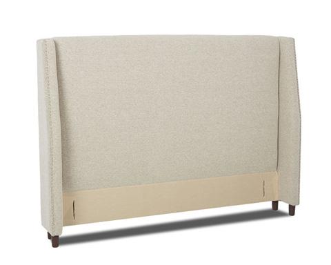 Klaussner Home Furnishings - Yale Queen Upholstered Headboard - 198-050 HDBRD