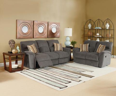 Lane Home Furnishings - Grand Torino Double Reclining Loveseat - 230-29