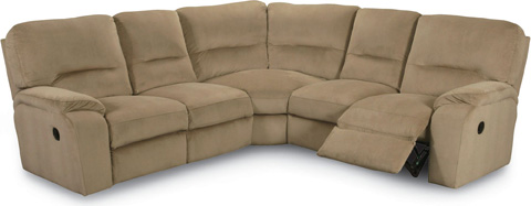 Lane Home Furnishings - Thad Reclining Sectional - 273