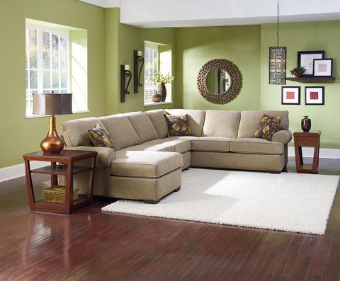 Lane Home Furnishings - Vivian Stationary Sectional - 738