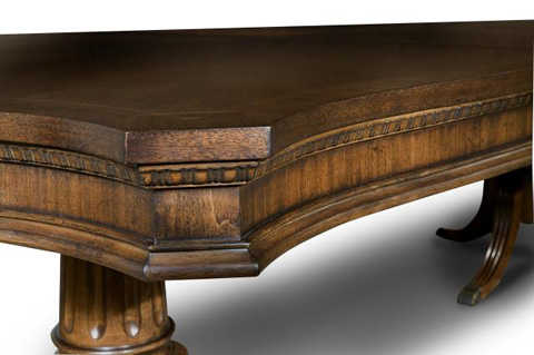 Legacy Classic Furniture - American Traditions Rectangular Pedestal Table - 9350-622K