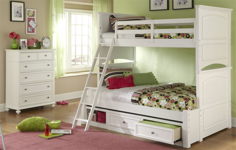 Legacy Classic Furniture - Twin over Twin Bunk Bed - 2830-8110K