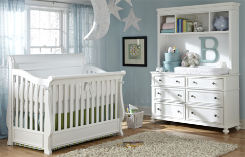 Legacy Classic Furniture - Nursery Convertible Crib - 2830-8900