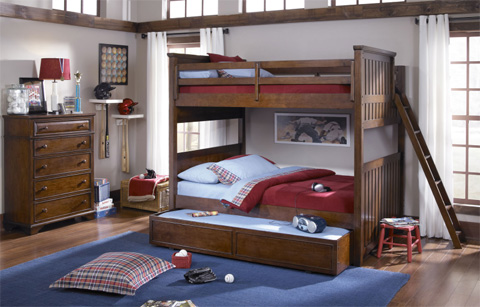 Legacy Classic Furniture - Twin over Twin Bunk Bed - 2960-8505K