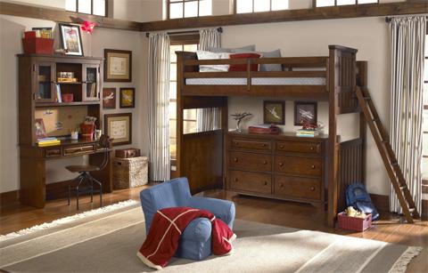Legacy Classic Furniture - Full Loft Bed - 2960-8520K