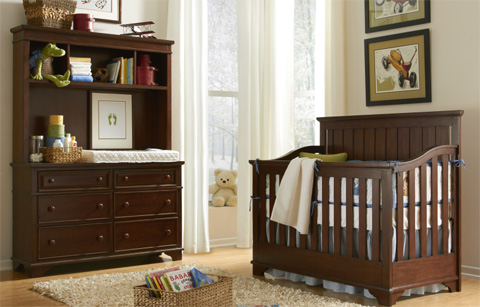 Legacy Classic Furniture - Nursery Convertible Crib - 2960-8900