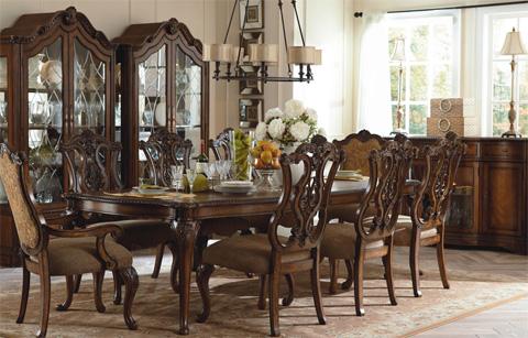 Legacy Classic Furniture - Rectangular Leg Dining Table - 3100-222